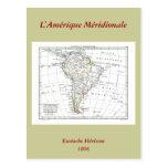 1806 mapa - L'Amérique Méridionale Postal