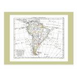 1806 mapa - L'Amérique Méridionale Postales