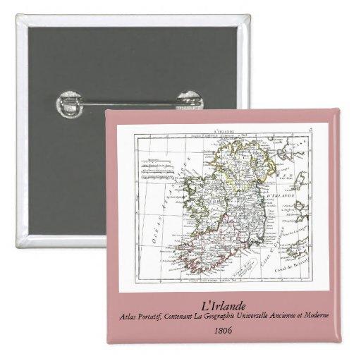 1806 mapa - L'Irlande Pin