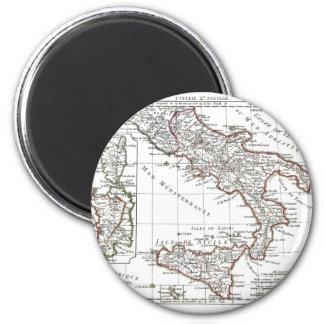 1806 mapa - L'Italie (Sud) Iman Para Frigorífico