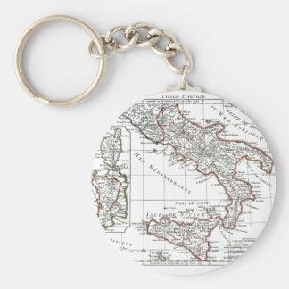 1806 mapa - L'Italie (Sud) Llavero