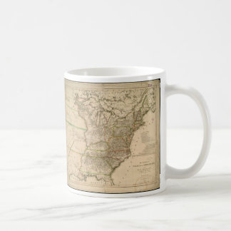 1809 Map of the United States of North America Coffee Mugs