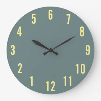 180° Rotation clock