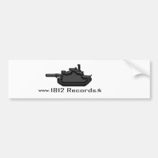1812 Bumper Sticker