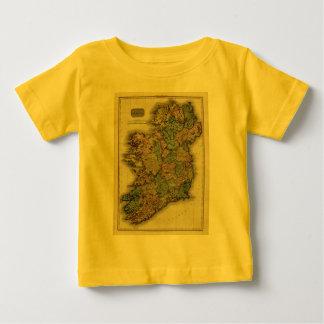 1813 Ireland Map by John Pinkerton Baby T-Shirt