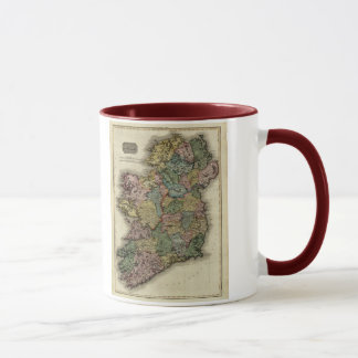 1813 Ireland Map by John Pinkerton Mug
