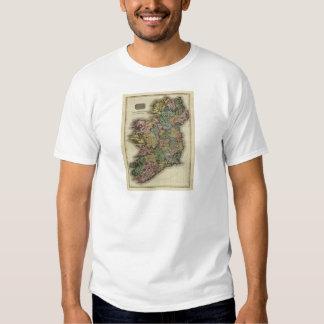 1813 Ireland Map by John Pinkerton Shirt