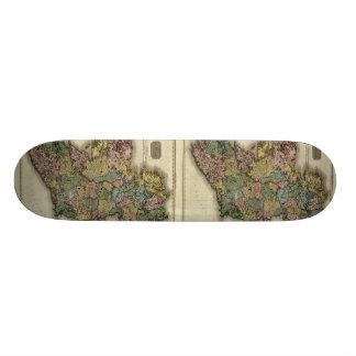 1813 Ireland Map by John Pinkerton Skateboard Deck