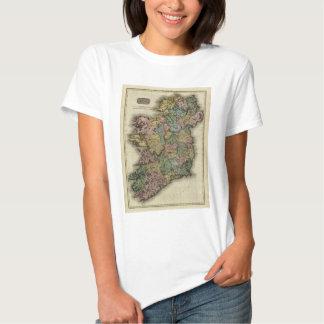 1813 Ireland Map by John Pinkerton T Shirt