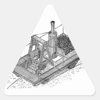 1813 Puffing Billy Triangle Sticker