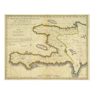1814 Haiti Map by Mathew Carey Flyer