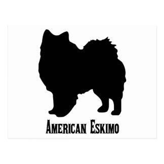 1815112006 American Eskimo (Animales) Postcard