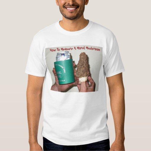 18162127, How To Measure A Morel Mushroom T-Shirt