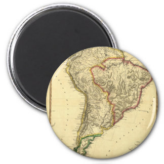 1817 Map of South America Magnet