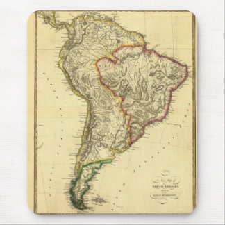 1817 Map of South America Mouse Pads