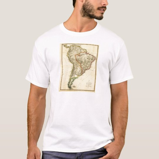 1817 Map of South America T-Shirt