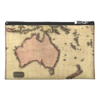 1818 Australasia Map - Australia, New Zealand Travel Accessory Bag