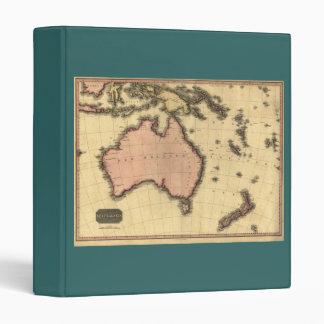 1818 Australasia Map - Australia, New Zealand Binder