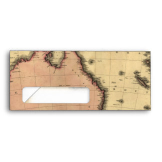 1818 Australasia  Map - Australia, New Zealand Envelope