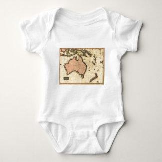 1818 Australasia  Map - Australia, New Zealand Infant Creeper