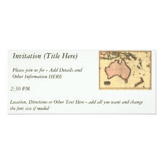1818 Australasia Map - Australia, New Zealand Announcement