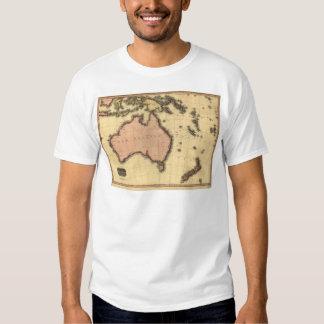 1818 Australasia  Map - Australia, New Zealand T-Shirt