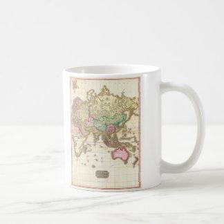 1818 John Pinkerton Map of the Eastern Hemisphere Coffee Mug