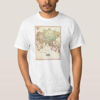 1818 John Pinkerton Map of the Eastern Hemisphere Tee Shirt
