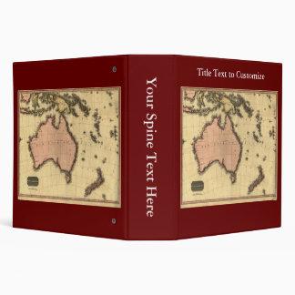 1818 mapa de Australasia - Australia, Nueva Zeland