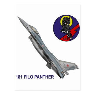 181 FILO Panther F-16 Falcon Post Cards