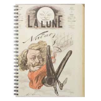 """1820-1910) páginas de título de Nadar (de """"La Lune Cuaderno"""