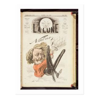 """1820-1910) páginas de título de Nadar (de """"La Tarjetas Postales"""