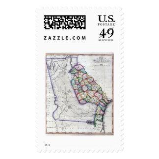 1822 Georgia Stamps