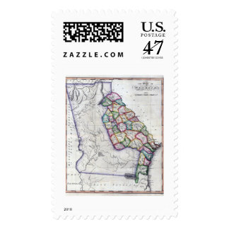 1822 Georgia Stamp