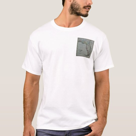 1823 Florida Map T-Shirt