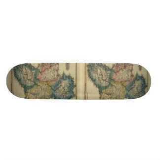 1823 Ireland map by Lucas Fielding Jr Skateboard Decks