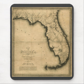 1823 Map of Florida Mouse Pad