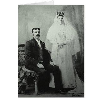 1823 Wedding Card