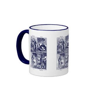 1831 Races of Mankind Coffee Mug