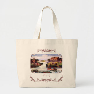 1833 Chicago Frontier Tote Bag