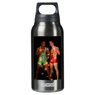 18346 Christmas 10 Oz Insulated SIGG Thermos Water Bottle