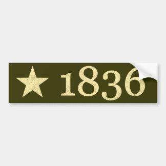 1836 BUMPER STICKERS