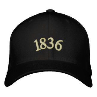 1836 EMBROIDERED BASEBALL HAT