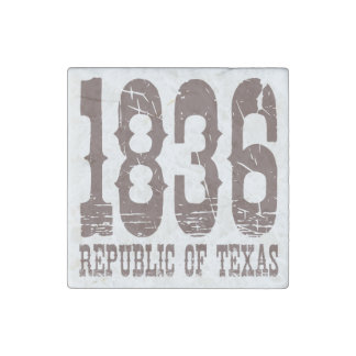 1836 Republic of Texas Stone Magnet