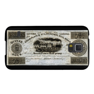 1837 Canadian Railroad Currency Samsung Galaxy Nexus Cover
