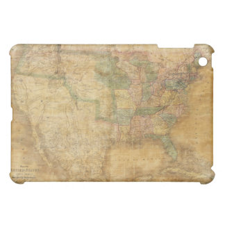 1839 David H. Burr Wall Map of the United States iPad Mini Case
