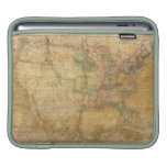1839 David H. Burr Wall Map of the United States Sleeve For iPads