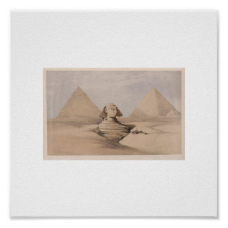 1839 sphinx picture poster