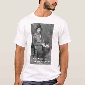 1840s Greeley, Wig-Wags.com Serious History T-Shirt