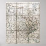 1841 Republic of Texas Poster
